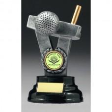 Golf Putter Trophy 120mm