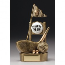 18th Tee Nearest the Pin Golf Trophy