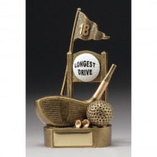 18th Tee Longest Drive Golf Trophy