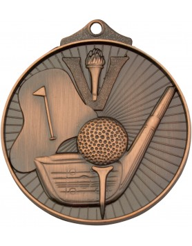 Medal - Golf Bronze Victory