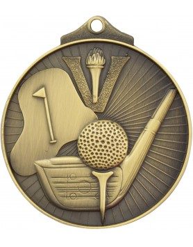 Medal - Golf Gold Victory