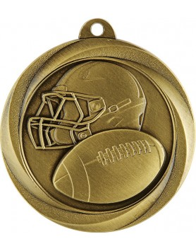 Medal - Gridiron Gold 50mm