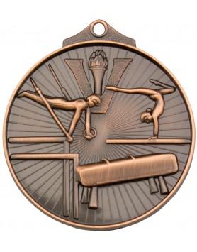 Gymnastics Sunraysia Medal 52mm - Bronze