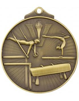 Gymnastics Sunraysia Medal 52mm - Gold