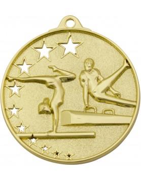 Gymnastics Hollow Star Series 52mm - Gold