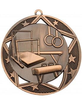 Gymnastics  Medal Bronze - 70mm