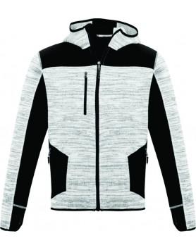 Hoodie Streetworx Reinforced Knit Unisex - Grey