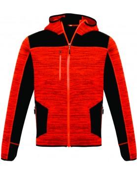 Hoodie Streetworx Reinforced Knit Unisex - Flouro Orange