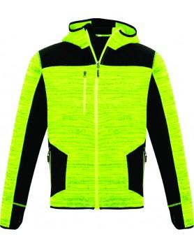 Hoodie Streetworx Reinforced Knit Unisex - Flouro Yellow