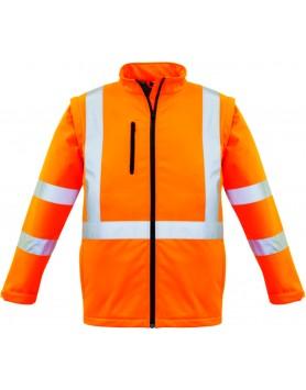 Jacket 2 in 1 XBack Taped Softshell Unisex - Orange