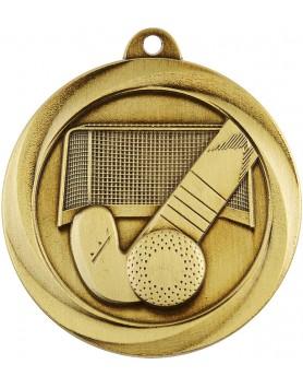 Medal - Hockey Gold 50mm