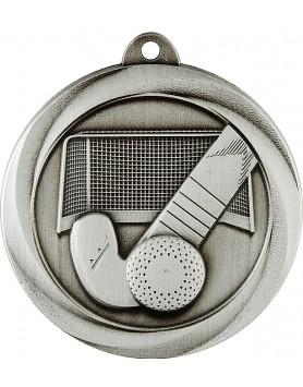 Medal - Hockey Silver 50mm