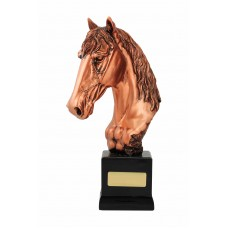 Bronze Horse Head 255mm