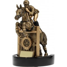 Horse Equestrian Trophy 210mm