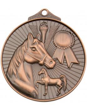 Horse / Equestrian Sunraysia Medal 52mm - Bronze