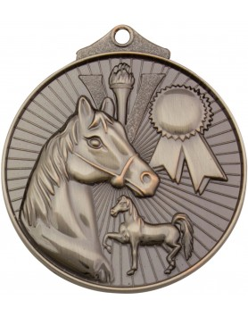 Horse / Equestrian Sunraysia Medal 52mm - Silver