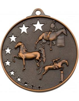 Horse / Equestrian Hollow Star Series 52mm - Bronze