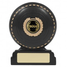 Lawn Bowls Resin Trophy 120mm