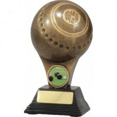 Lawn Bowls Resin Trophy 150mm