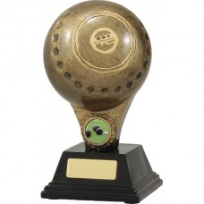 Lawn Bowls Resin Trophy 200mm