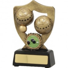 Lawn Bowls Shield Series 140mm