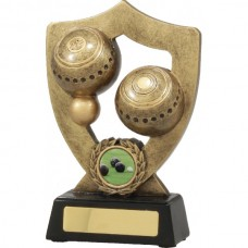 Lawn Bowls Shield Series 180mm