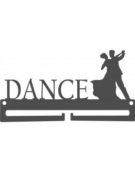 Medal Hanger Dance Couple 3mm