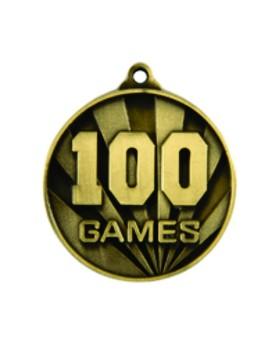 Games Medal - 100 Games