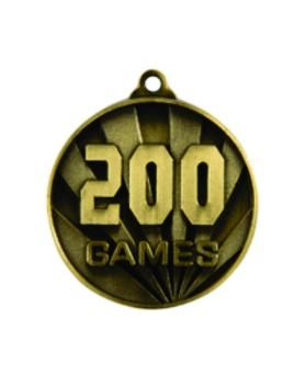 Games Medal - 200 Games