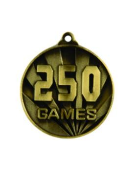 Games Medal - 250 Games