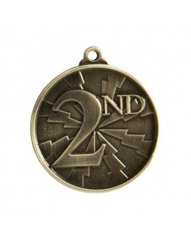 Generic Heavy Two Tone Medal 50mm - 2nd
