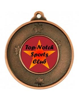 Generic Heavy Stars Medal - Bronze