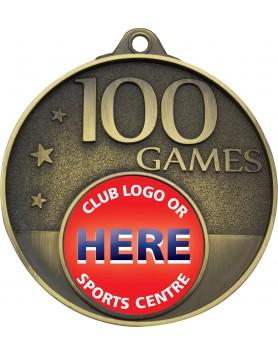 Game Milestone Medal - 100 Games