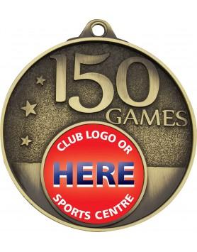 Game Milestone Medal - 150 Games