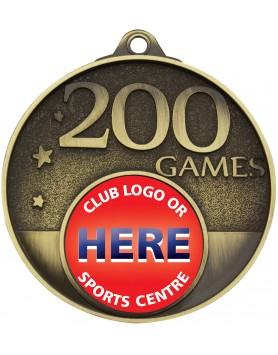 Game Milestone Medal - 200 Games