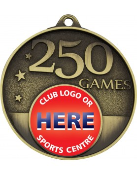 Game Milestone Medal - 250 Games