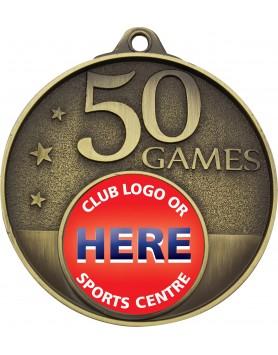 Game Milestone Medal - 50 Games