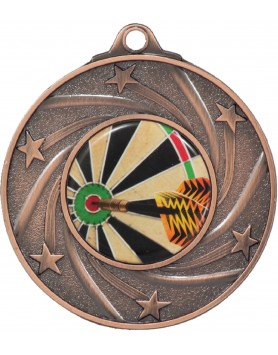 Medal - Spinning Stars Bronze with 25mm Insert 50mm