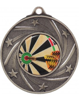 Medal - Spinning Stars Silver with 25mm Insert 50mm