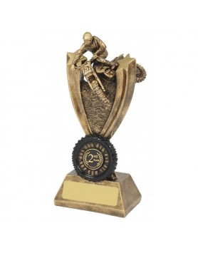 Motocross Resin Trophy 190mm