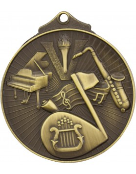 Medal - Music Gold Victory
