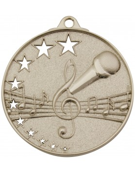 Music Hollow Star Series 52mm - Silver