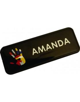 Name Badge /Tag - Fully Framed Full Colour