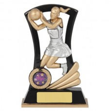 Netball Resin Trophy 165mm