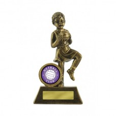 Netball Little Champ Gold 125mm