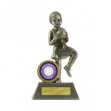 Netball Little Champ Silver 125mm