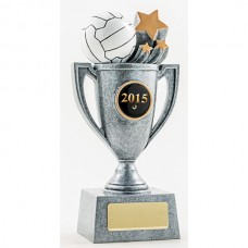 Netball Resin Cup Trophy 175mm