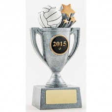 Netball Resin Cup Trophy 155mm