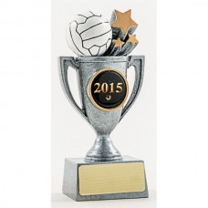 Netball Resin Cup Trophy 130mm