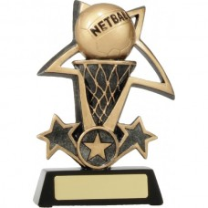 Netball Bursting Star 150mm